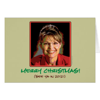 Carte de Noël de Sarah Palin (mod)