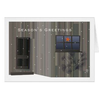Carte de Noël de Tom Thomson Shack