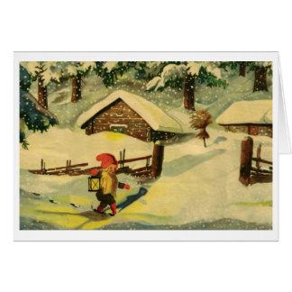Carte de Noël de Tomten