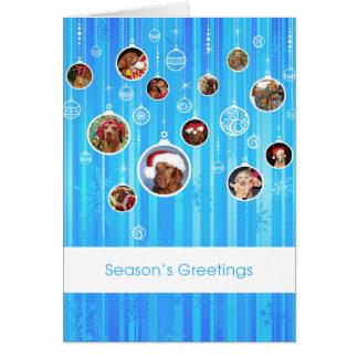 Carte de Noël de Vizsla de Hongrois 009