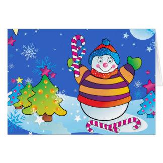 Carte de Noël d'enfants - bonnes fêtes
