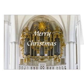 Carte de Noël d'organe de Berlin