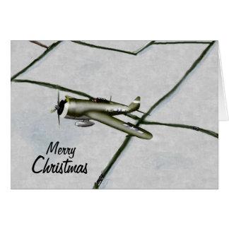 Carte de Noël du coup de foudre P47