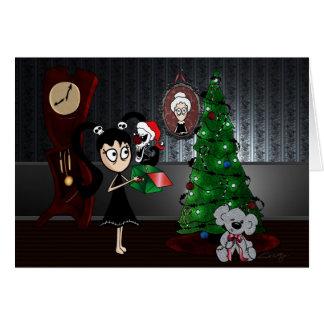"""Carte """"de Noël effrayant"""""""