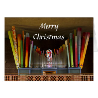 Carte de Noël folle d'organe