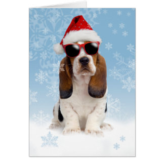 Carte de Noël fraîche de Noël