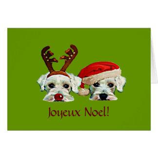 Carte de Noël française