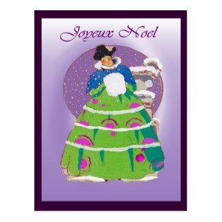 Carte de Noël française 1904, Joyeux Noel Carte Postale