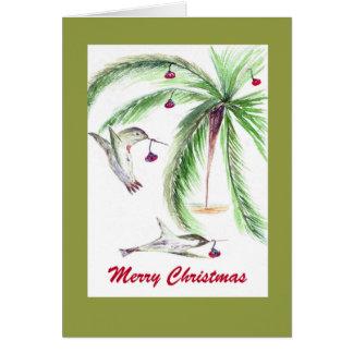 Carte de Noël LUNATIQUE