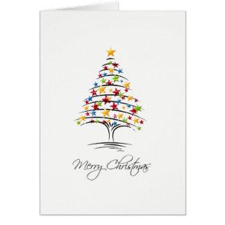 Carte de Noël Marry Christmas