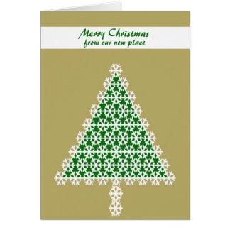 Carte de Noël mobile de faire-part