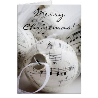 Carte de Noël musicale