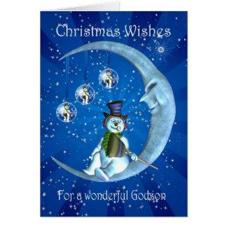 Carte de Noël, Noël de filleul