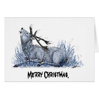 Carte de Noël ONU-De fête