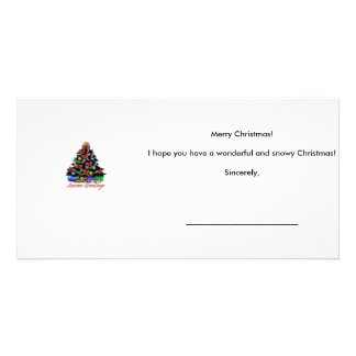 Carte de Noël Photocartes Personnalisées