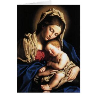 Carte de Noël religieuse