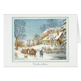 Carte de Noël vintage