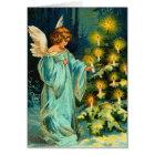 Carte de Noël vintage d'ange