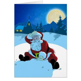 Carte de Noël - WTF Père Noël