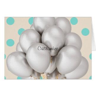 Carte de note cartes de vœux