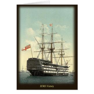 Carte de note de HMS Victory