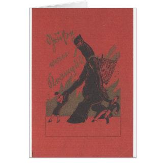 Carte de note de Krampus