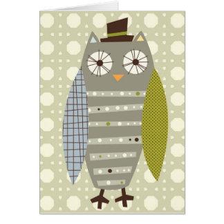 Carte de note de M. Owl