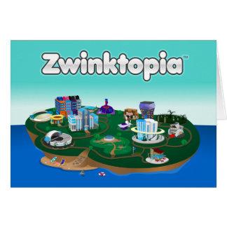 Carte de note de Zwinktopia