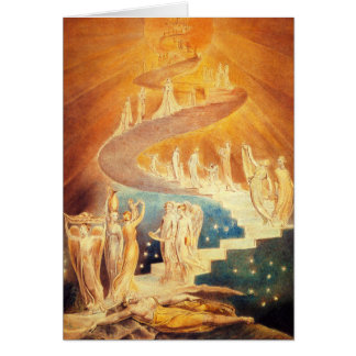 Carte de note d'échelle de William Blake Jacob