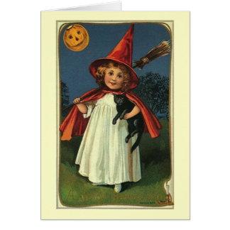 Carte de note heureuse de Halloween