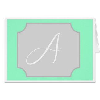 Carte de note initiale