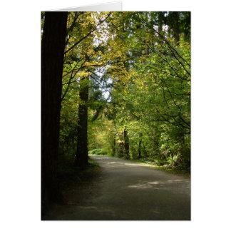 Carte de note - le Central Park de Burnaby au