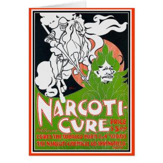 Carte de Nouveau d'art : Narcoti-Traitement -