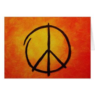Carte de paix