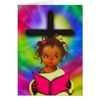 Carte de Pâques d'Afro-américain