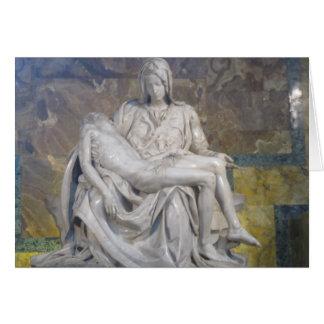 Carte de Pâques--Pieta de La