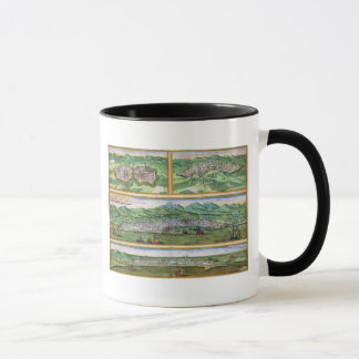 Carte de Parme, de Sienne, de Palerme, et de Mug
