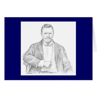 "Carte de Paul McGehee ""Theodore Roosevelt"""