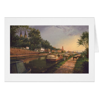 """Carte de Paul McGehee """"vieux canal de C et d'O à"""
