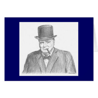 "Carte de Paul McGehee ""Winston Churchill"""