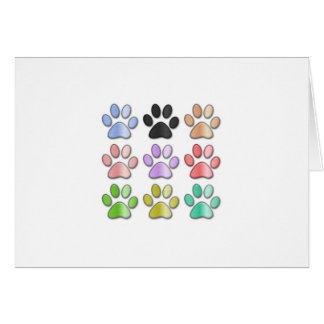 Carte de Pawprint