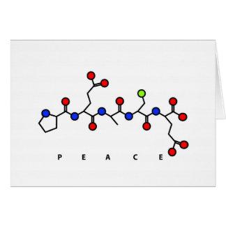 Carte de peptide de PAIX