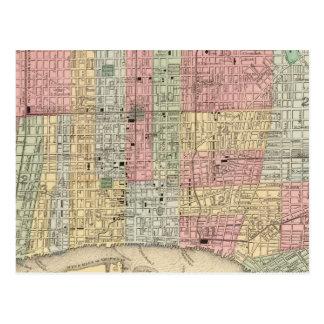 Carte de Philadelphie par Mitchell