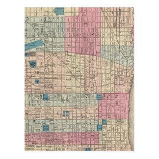 Carte de Philadelphie, Pennsylvanie