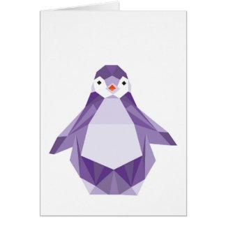 Carte de pingouin