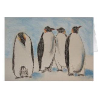 Carte de pingouins