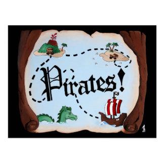 Carte de pirate