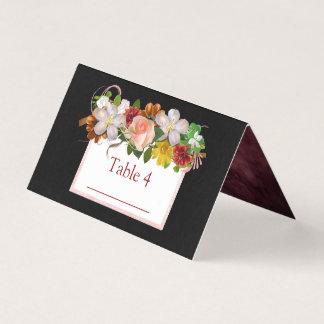 Carte De Placement Le noir rougissent carte rose de Tableau de