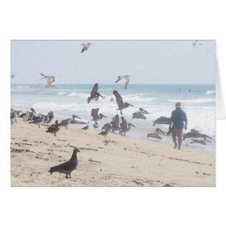 Carte de plage de la Californie