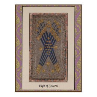 Carte de plate-forme de tarot de Visconti - circa